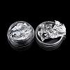 (Same Sku: MRMJ-K001-24A) Silver Foil Chip Nail Art Glitter DecorationMRMJ-F003-05S-1