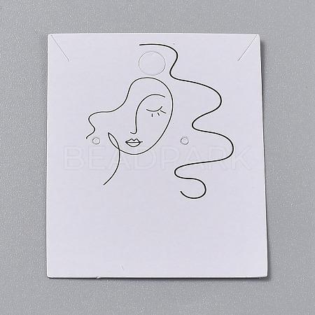 Cardboard Jewelry Display CardsCDIS-H002-01B-01-1