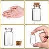 Glass Jar Glass Bottles Bead ContainersAJEW-S074-02B-4