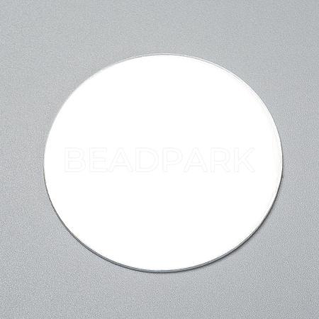 Flat Round Shape MirrorDIY-WH0170-51-1