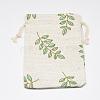 Polycotton(Polyester Cotton) Packing Pouches Drawstring BagsABAG-T004-10x14-16-2