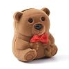 Bear Shape Velvet Jewelry BoxesX-VBOX-L002-C01-1