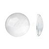 (Old Sku: GGLA-G006)Transparent Glass CabochonsGGLA-R026-18mm-1