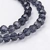 Glass Beads StrandsEGLA-J042-4mm-03-3