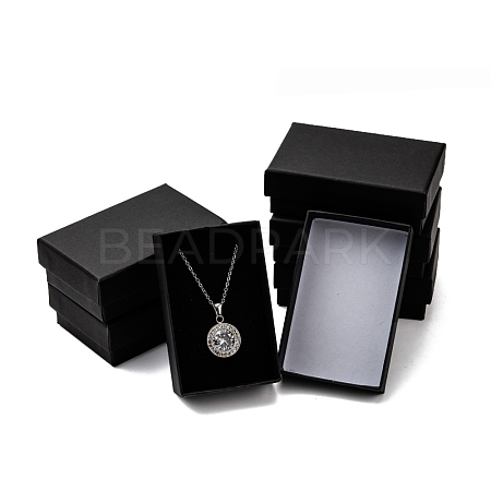 Cardboard Paper Jewelry Set BoxesCBOX-G015-04-1