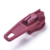 Spray Painted Alloy Replacement Zipper SlidersPALLOY-WH0067-97P-1
