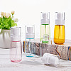 BENECREAT 60ml Transparent PETG Plastic Spray Bottle SetsMRMJ-BC0001-76-6