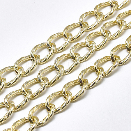 Aluminium Curb ChainsCHA-T001-09LG-1