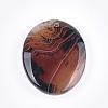 Natural Banded Agate/Striped Agate PendantsG-T105-42-2