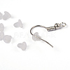 Clear Soft Plastic Earring Back Stopper Ear NutsX-E374Y-1-4