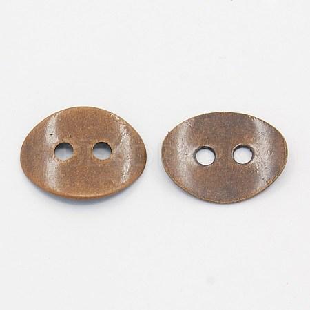 Brass Button ClaspsX-KK-G080-R-NF-1