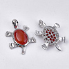 Natural Carnelian Big Pendants G-S353-04E-2