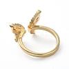 Adjustable Brass Cuff Finger RingsRJEW-G096-03G-3