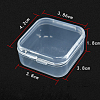 Transparent Plastic Bead Containers CON-WH0019-01-4