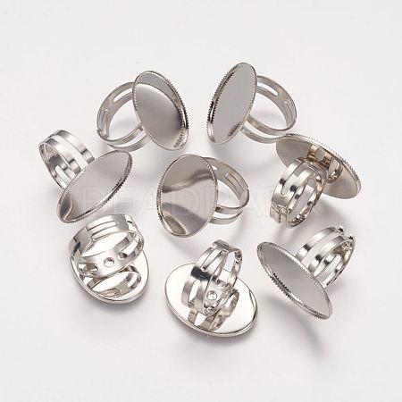 Brass Pad Ring BasesX-KK-B648-P-1