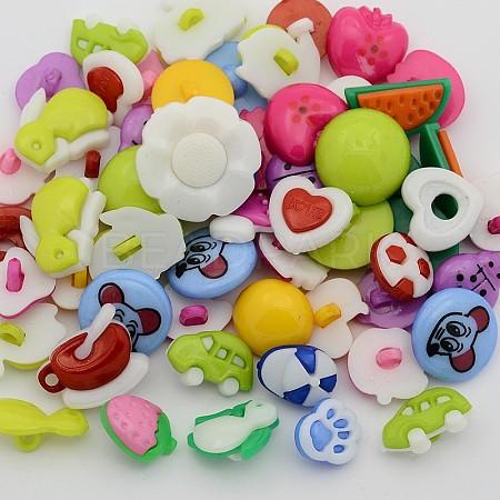 Cute Shank Buttons For SaleBUTT-X0028-1