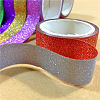 Glitter DIY Scrapbook Decorative Adhesive TapesDIY-A002-01-5
