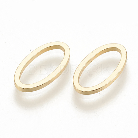 Brass Linking Rings X-KK-N0190-11G-1