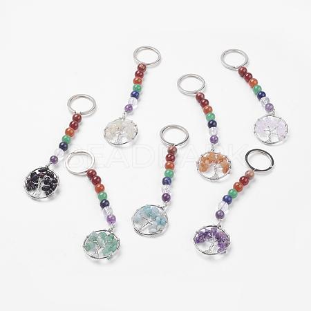 Gemstone Chakra KeychainKEYC-P037-A-1