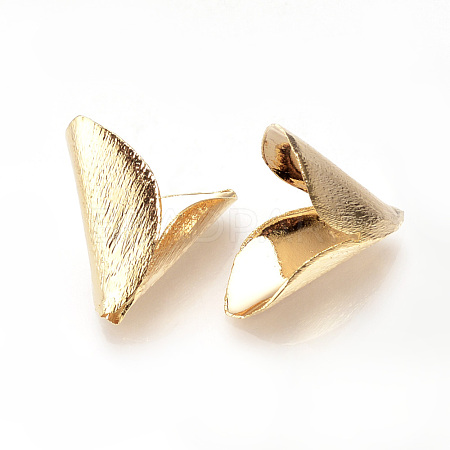 Brass Bead CapsX-KK-R058-191G-1