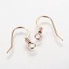 304 Stainless Steel Earring FindingsX-STAS-E117-08RG-2