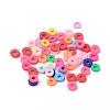 Eco-Friendly Handmade Polymer Clay BeadsCLAY-R067-4.0mm-M1-4