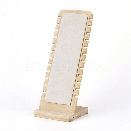 Bamboo Necklace Display Stand NDIS-E022-04-1