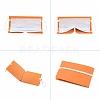 Portable Foldable Plastic Mouth Cover Storage Clip OrganizerAJEW-E034-71B-3