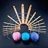 BENECREAT Bamboo Crochet HooksTOOL-BC0005-01-4