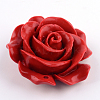 Rose Flower Cinnabar Links X-CARL-Q004-72-3