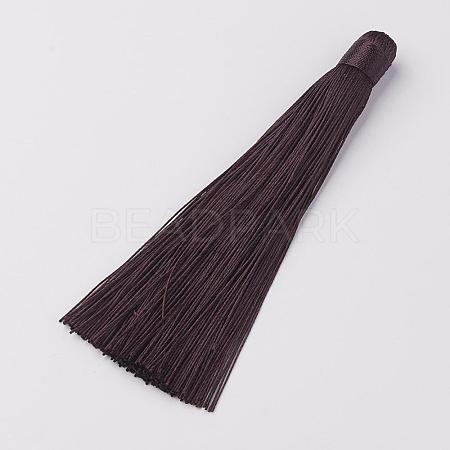 Nylon Tassels Big Pendant DecorationsHJEW-G010-B12-1