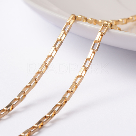 Vacuum Plating 304 Stainless Steel Venetain Chains CHS-H007-34G-1