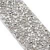 Glitter Resin Hotfix Rhinestone(Hot Melt Adhesive On The Back)OCOR-TAC0002-01-15mm-3