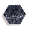 Hexagonal Shape Marble CoastersG-F672-01A-1