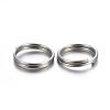 304 Stainless Steel Split RingsSTAS-P223-22P-09-2