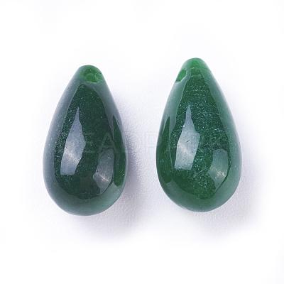 Natural Myanmar Jade/Burmese Jade PendantsG-L495-35-1