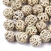 Handmade Reed Cane/Rattan Woven BeadsX-WOVE-T006-007B-1