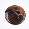 Natural Banded Agate/Striped Agate Pendants G-T105-41-2