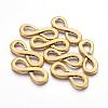 Tibetan Style Alloy Infinity Links for Bracelet DesignX-TIBEP-S188-AG-NR-2