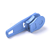 Spray Painted Alloy Replacement Zipper SlidersPALLOY-WH0067-97B-2