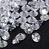 Clear Grade A Diamond Shaped Cubic Zirconia Cabochons X-ZIRC-M002-2.5mm-007-1