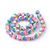 Handmade Polymer Clay Bead StrandsX-CLAY-Q230-25-2