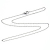 304 Stainless Steel Cable Chain Necklace MakingNJEW-S420-008C-P-3
