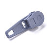 Spray Painted Alloy Replacement Zipper SlidersPALLOY-WH0067-97Y-2