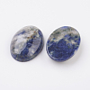 Natural Sodalite Flat Back Cabochons X-G-G741-13x18mm-06-2