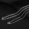 Fashewelry® Stainless Steel Pendant Necklaces NJEW-FW0001-02M-3