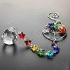 Crystals Chandelier Suncatchers PrismsAJEW-WH0021-50B-5