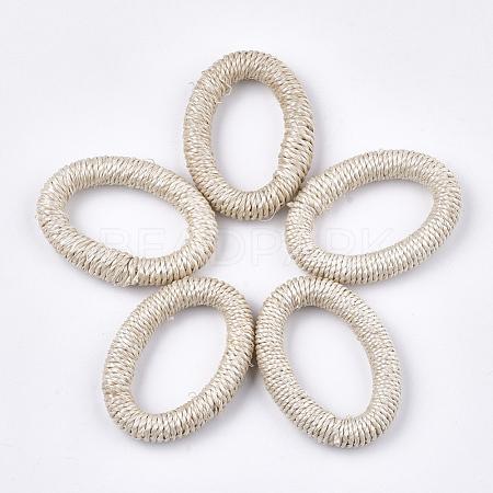Handmade Woven Linking RingsX-WOVE-T006-001-1