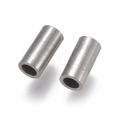 304 Stainless Steel Tube BeadsSTAS-F224-01P-B-1