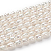 Grade A Natural Cultured Freshwater Pearl Beads StrandsX-A23WD011-5